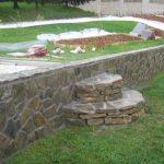 Izgradnja kamnitih  škarp